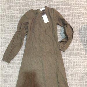 Dresses & Skirts - Green/brown A-line Dress